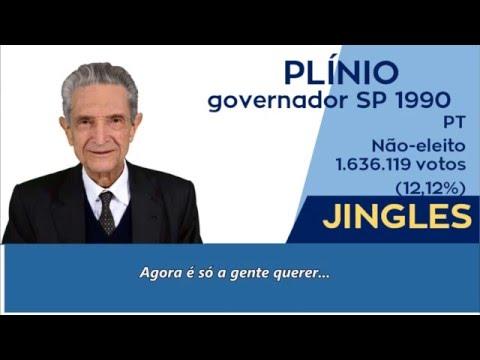 [Raridade] Jingle Plínio de Arruda Sampaio - Governador SP 1990 (com letra)