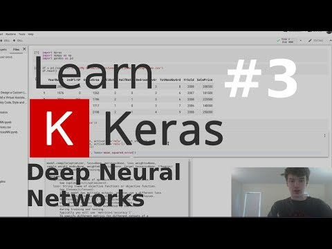 Predict Housing Prices Using a DNN   Learn Keras #3