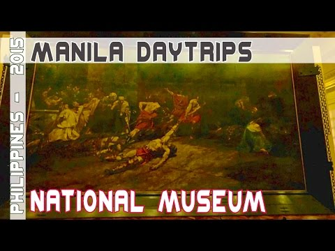 Metro Manila National Museum of the Philippines | Asia Travel VLOG