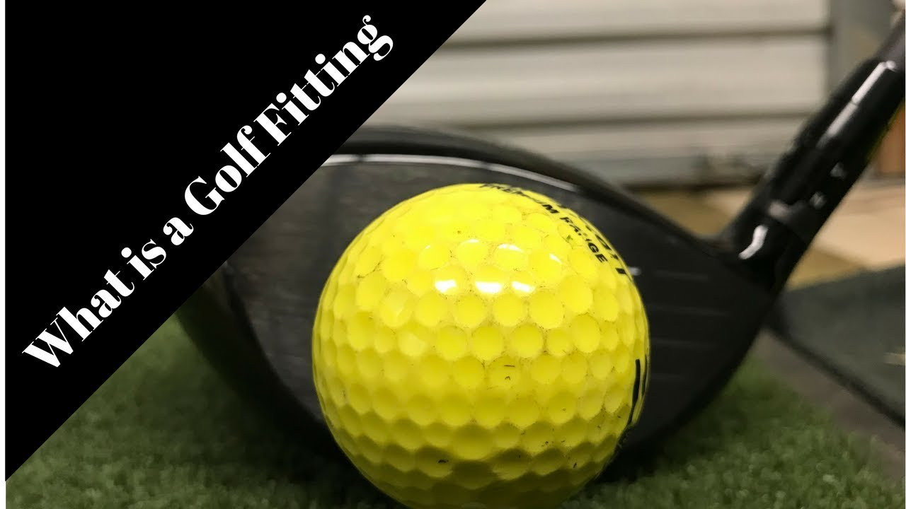 What Is A Golf Fitting The Process Mcgolfs Fitting Friday Youtube