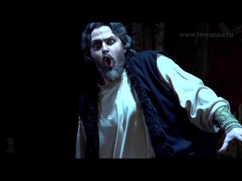 "Alexey TIKHOMIROV(bass) - MUSORGSKY - ""Boris Godunov"" - Clock Scene - Artstudio ""TroyAnna"""