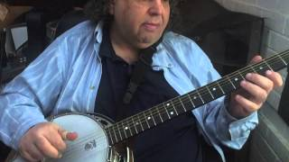 wash day blues in g on six string banjo