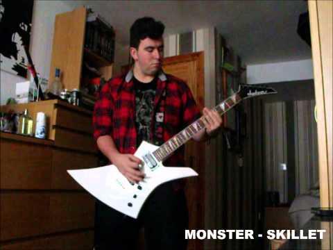 Skillet monster guitar
