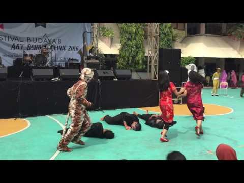 Festival Budaya 8 - SMAN 8 Jakarta - XI MIPA H 2017 : China
