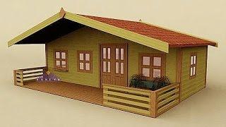 Minecraft Tahtadan Ev Yapımı ! Ahşap Ev Yapımı !