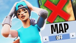 Winning Without MAP Challenge in Fortnite...
