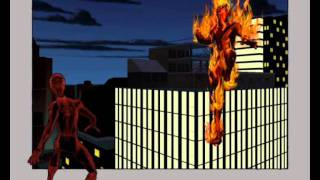 Repeat youtube video Ultimate Spider-Man - Carnage VS Johny Storm(Spider-Man Hack).wmv
