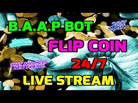🔵 24/7 Flip Coin Game Live Stream ( Subscribe ) - Music Chill / Chat + Random Live Shoutouts