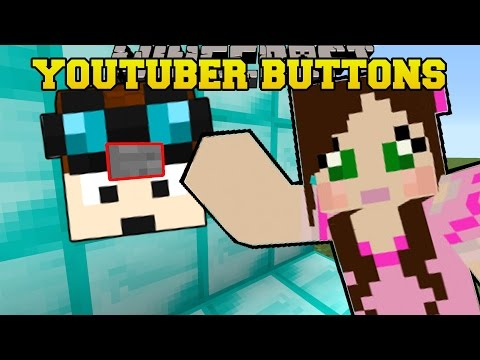 Minecraft: FIND THE YOUTUBER'S BUTTONS!! (DANTDM, SKYDOESMINECRAFT, & MORE!) - Custom Map