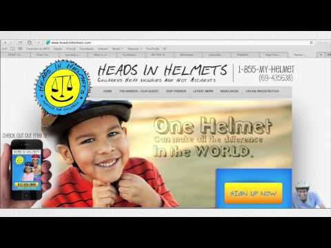 How can people provide helmets to kids in their communities?