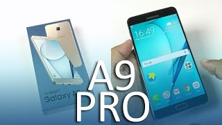 samsung galaxy a9 pro unboxing and hands on impressions