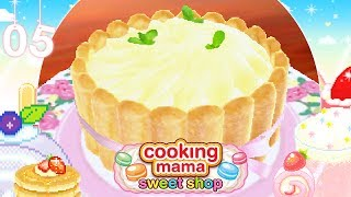 ♡ Cooking Mama Sweet Shop (Gameplay): 05 - Pear Charlotte ♡