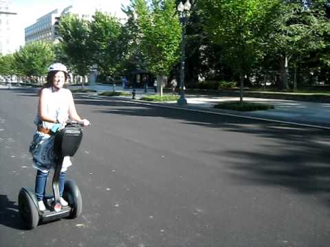 Rolling Washington DC in a Segway [1/5]: The White House
