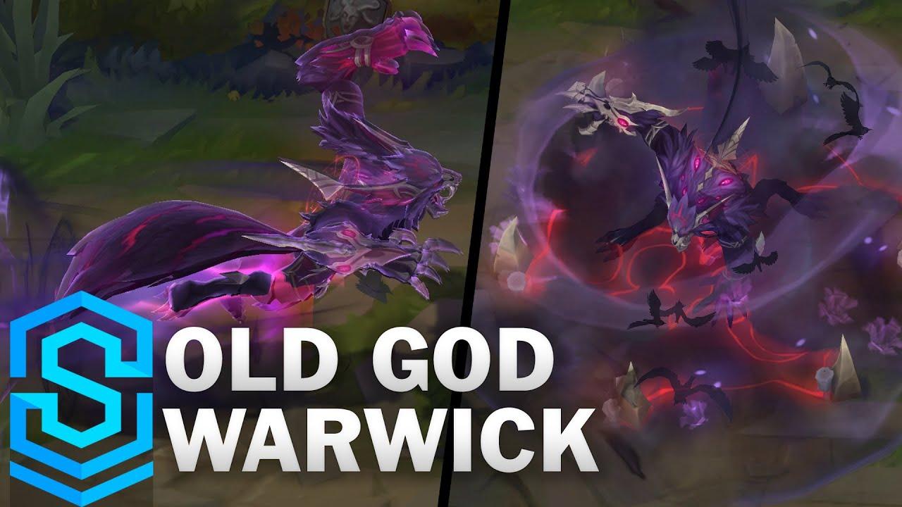 Old God Warwick Skin Spotlight - Pre-Release - League of Legends