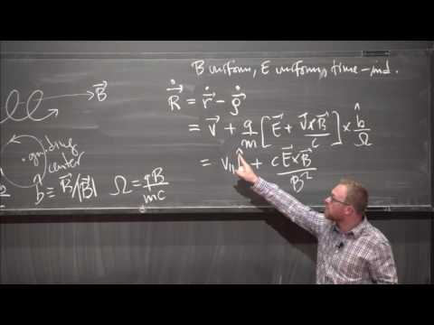 """Introduction to Plasma Physics II: Kinetics"" by Matthew Kunz"