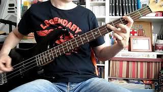 BARRICADA - No hay tregua (bass cover)