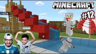 Tobogan en Mi Casa de Minecraft | Piscina en Minecraft Survival | Juegos Karim Juega