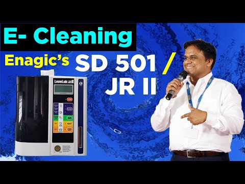 Cleaning procedure of Enagic's SD 501 in Hindi