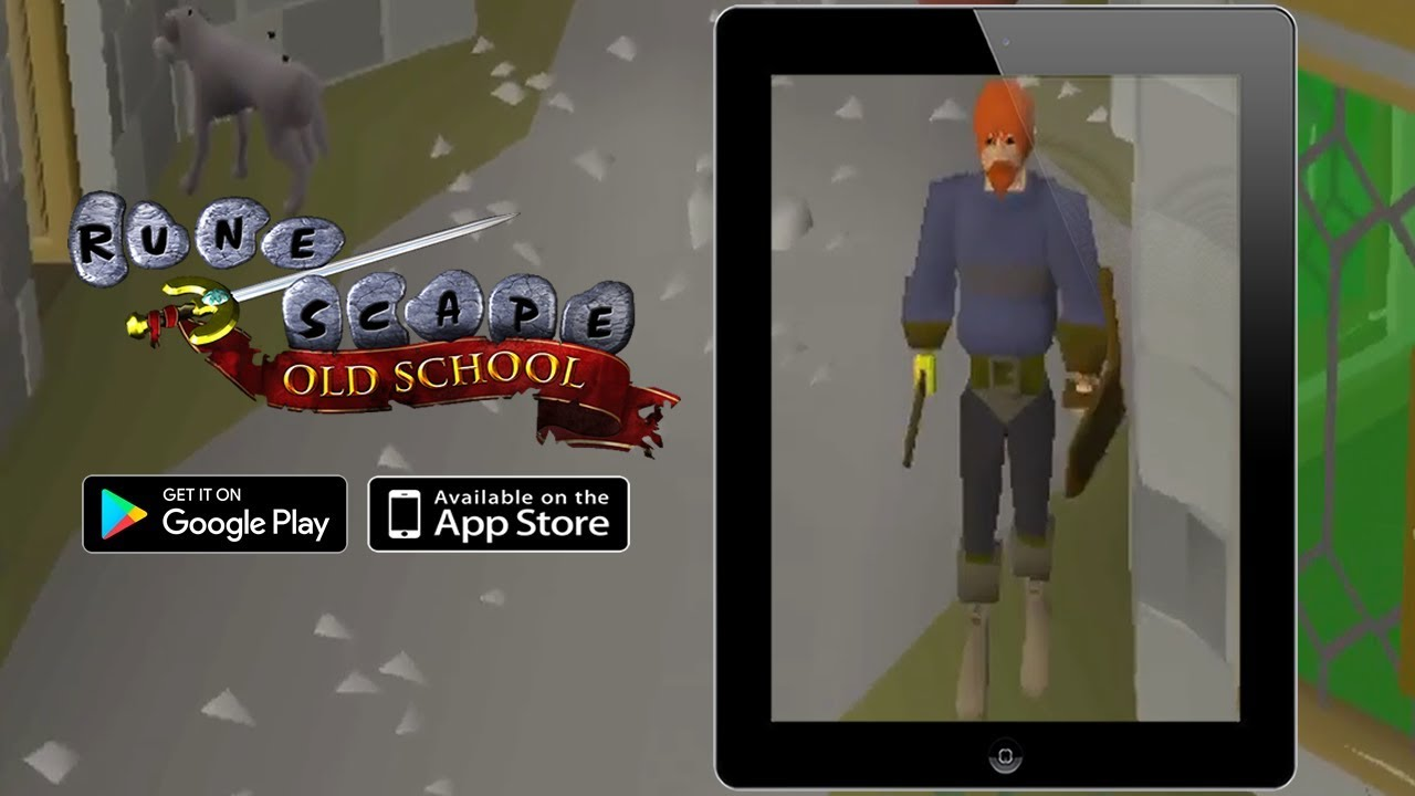 Old School RuneScape Mobile Overview For iPhone, iPad, iPod & Android |  DansTube TV