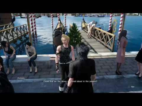 Final Fantasy Xv Altissia City By The Sea Symbol Of The Peace