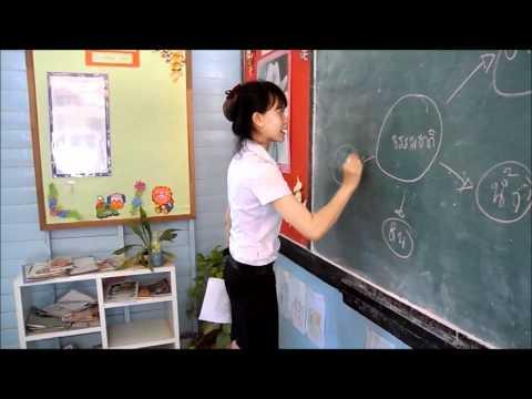 การสอนชั้นป.6 ร.ร.วัดตาลกง