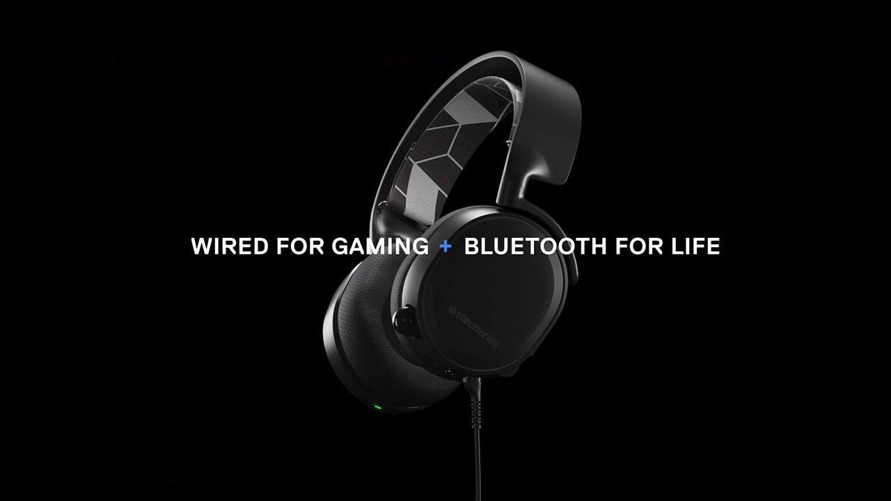 Wired for Gaming  Bluetooth for Life  Arctis 3 Bluetooth Now Available