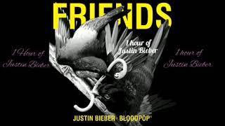 Justin Bieber ft blood pop - friends 1 hour loop