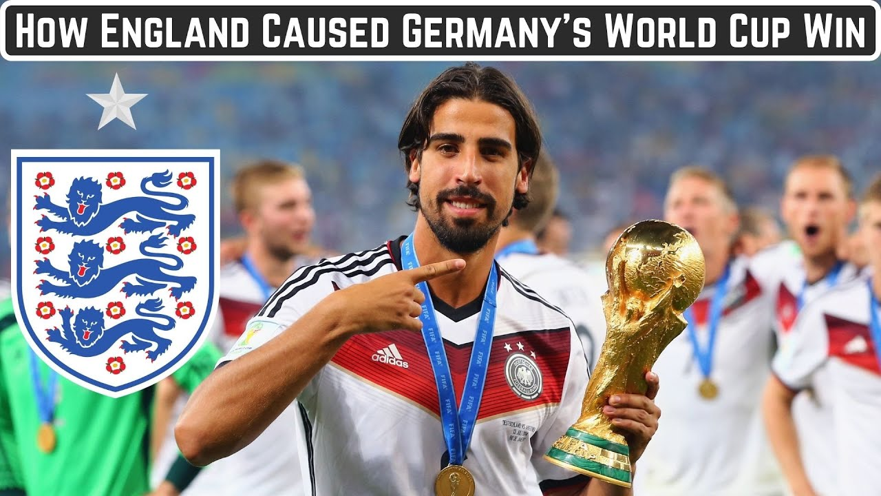 How England Caused Germany's 2014 World Cup Win