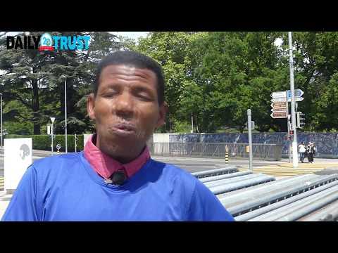 Haile Gebrselassie runs for health