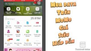 Mua thẻ 3G / 4g trên MOMO để được giảm giá