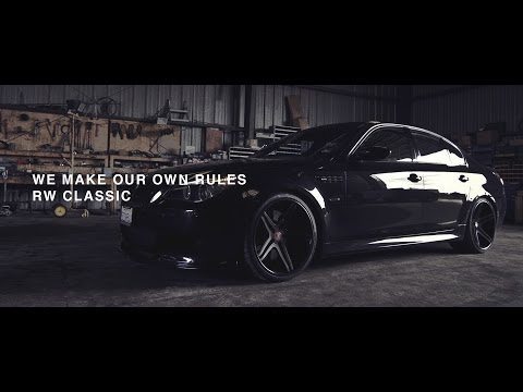 BMW M5 - WE MAKE OUR OWN RULES (ROBYWORKS)