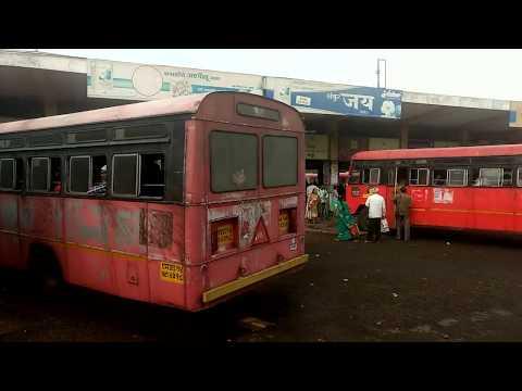 Akola Bus stand: Akola-A cotton city in Vidarbha region of Maharashtra