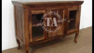Wooden Sideboard Indian Furniture Handicraft