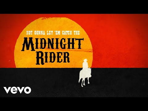 Gregg Allman - Midnight Rider (Lyric Video)
