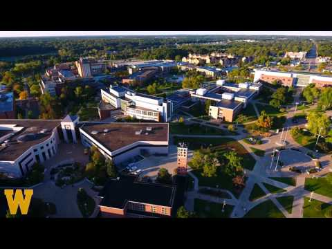 Western Michigan University Fall Campus Tour