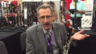 Gary Whitman and the Buffet Crampon 1180 performance bass clarinet