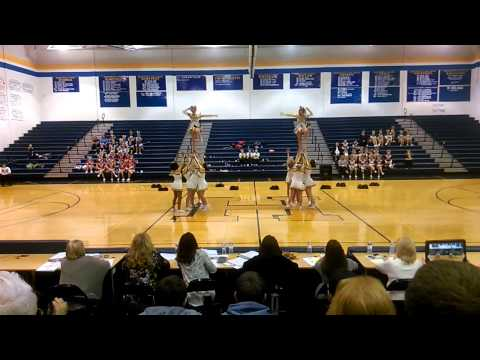 Tucker County High School-WVSSAC Region 2 A Cheer 2015