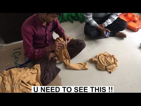 Secret Footage!! | How Leggings Are Made | Full Factory Tour | SURAT | INDIA
