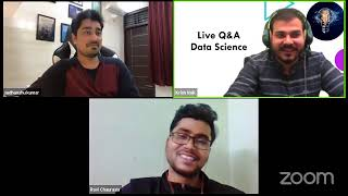 Live Virtual Interview For Data Science By Krish And Sudhanshu