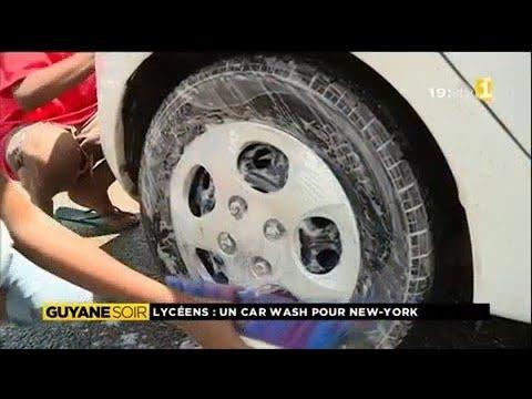 Opération car wash au lycée Melchior Garré