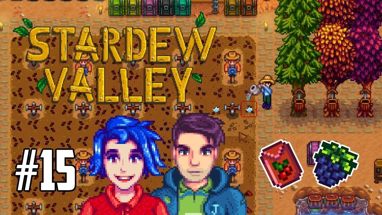 f19cac602e4025 STARDEW VALLEY Let s Play! FALL IS HERE   CRANBERRY CRAZINESS!