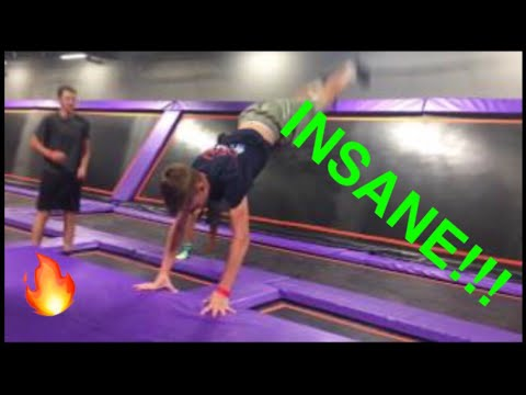 BEST Tricks Unleashed at Trampoline Park!