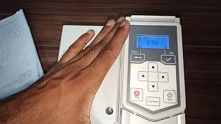 ABB ACS560 connection and Parameter Setting