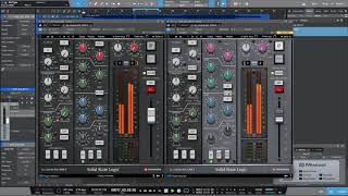 2. Dimensión Sonora by David Amo - Plugin SSL 4000 E vs. Plugin SSL 4000 G