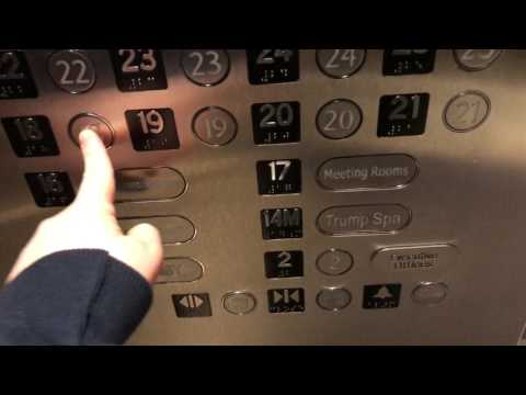 Kone Traction Elevators at Trump International Hotel and Tower