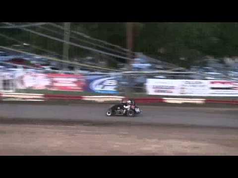 Dominic Scelzi 5/17/13 Plaza Park Raceway Non-Wing Heat Race