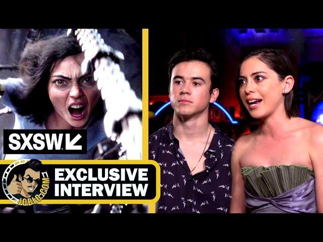 ALITA: BATTLE ANGEL - Rosa Salazar & Keean Johnson Give JoBlo the Details! (Interview) SXSW 2018