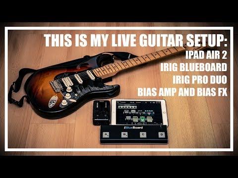 My $500 IPad Guitar Amp And Effect Setup - Bias FX And Bias Amp Mobile Live Guitar Setup