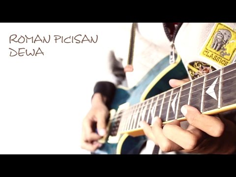 GILLAAAA!!  ROMAN PICISAN (DEWA) - SHRED GUITAR COVER BY RAN