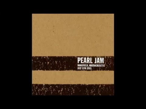 Pearl Jam 7-11-2003 Mansfield, MA Set 1 (Unplugged)